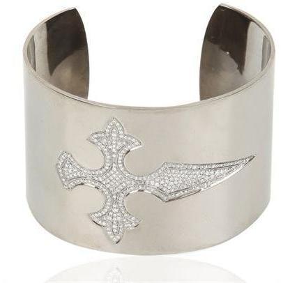 Stone Paris Blut Diamant Silber Armband