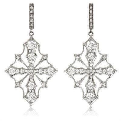Stone Paris Hypnotic Voodoo Gold und Diamant Ohrringe