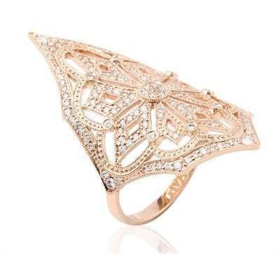 Stone Paris Lilith Ring aus Roségold und Diamanten