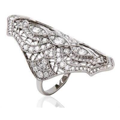 Stone Paris Sarah Ring aus Schwarzgold und Diamanten