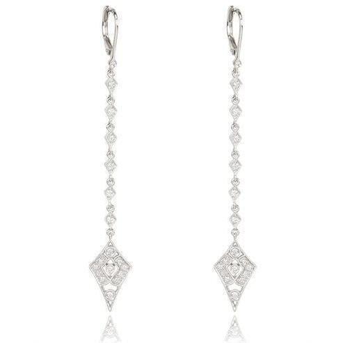 Stone Paris Weisse Diamant Ohrringe