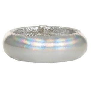 Ted Rossi Armreif Medium silver glatt