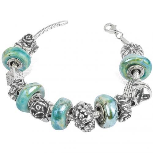 Tedora La Natura Armband aus Sterling Silber