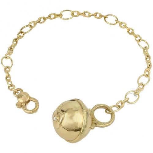Torrini Ball Armband aus 18k Gold mit Diamant
