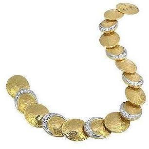 Torrini Lenticchie Armband aus 18k Gold und Diamanten