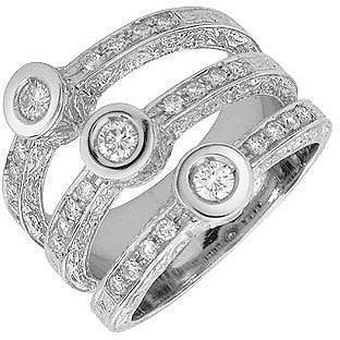 Torrini Liu Collection Ring aus 18k Weißgold und Diamant