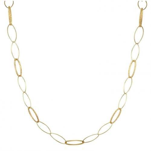 Torrini Marina Halskette aus 18k Gelbgold mit ovalen Kettengliedern
