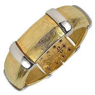Torrini Morphos Armband aus 18k Gelb- und Weißgold