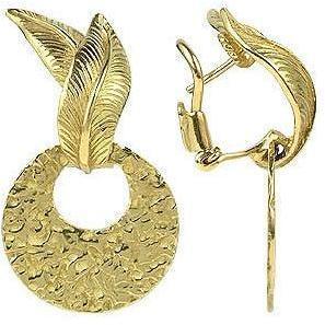 Torrini Victoria Ohrringe aus ziseliertem 18k Gelbgold