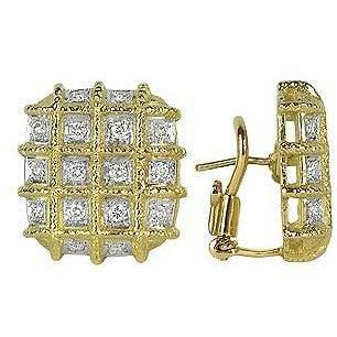 Torrini Wallstreet Ohrringe aus 18k Gelbgold und Diamant