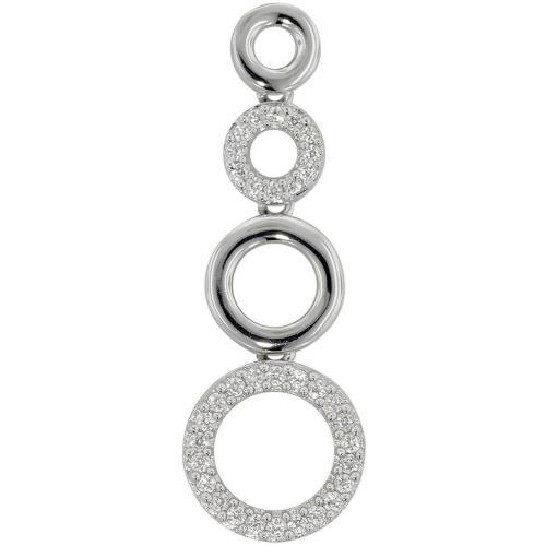 trendor Silber Anhänger 4 Ringe