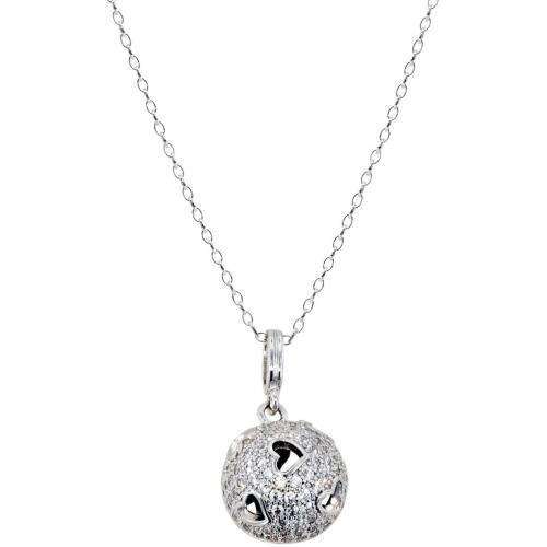 trendor Silber Anhänger mit Halskette