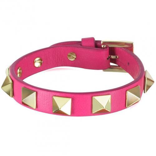 Valentino Garavani Rockstud- Armband aus Leder