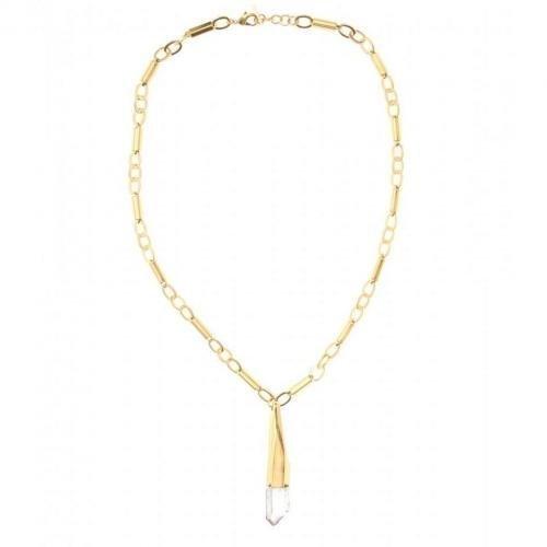 Vionnet Lange Halskette mit graphischem Anhänger
