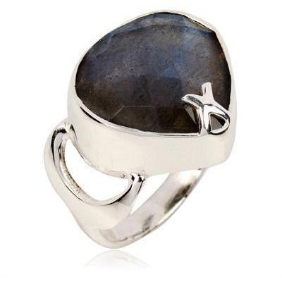Zara Simon Raindrop Labradorite Ring