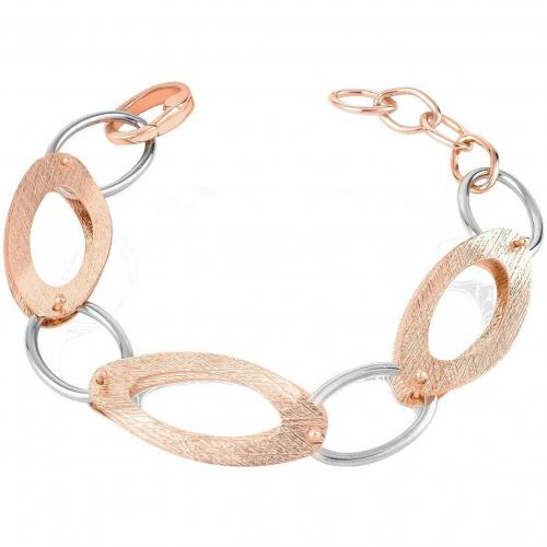 Zoppini Bronze Collection Armband mit ovalen Gliedern