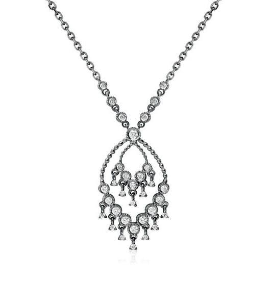 Kollier aus Gold mit Diamanten