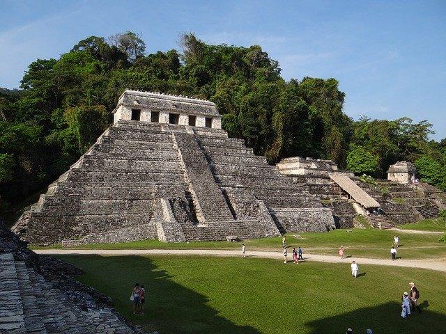 Maya Pyramide Mexiko