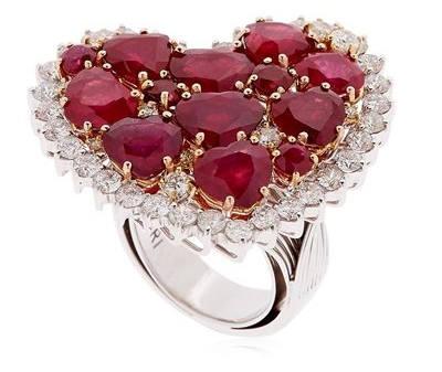 Rubin Diamant Ring - Was kostet ein Rubin?