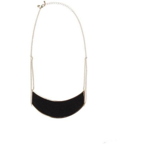 Pony Necklace Halskette gold/schwarz  von Cheap Monday