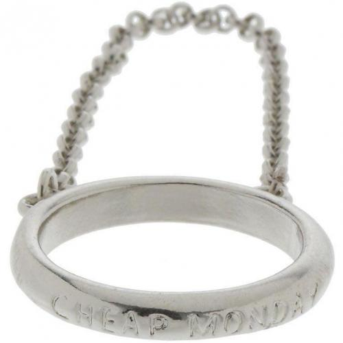 Ring rhodium  von Cheap Monday