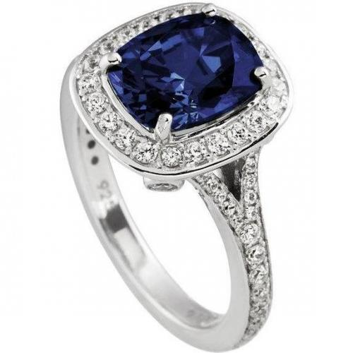 Diamonfire Ring oval blau von DiamonFire