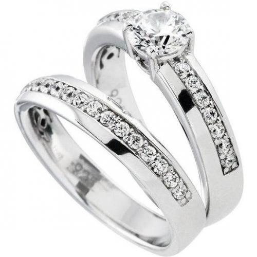 Diamonfire Ringe 2er Set von DiamonFire