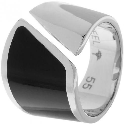 Match Ring silver/black von Joop!