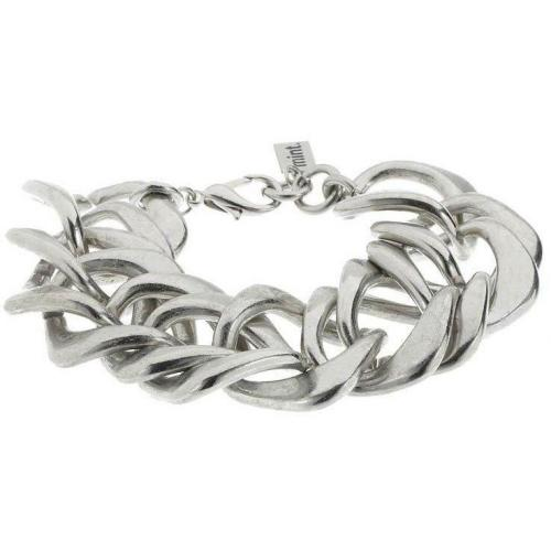 Twisted Armband silver  von mint