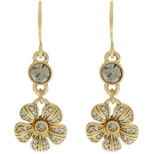 Desert Flower Ohrringe gold plated von Pilgrim