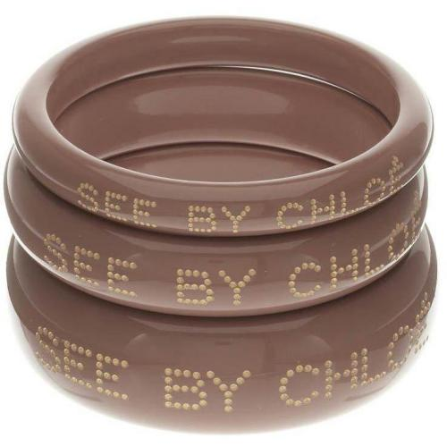 Set Of 3 Armband nougat von See by Chloé